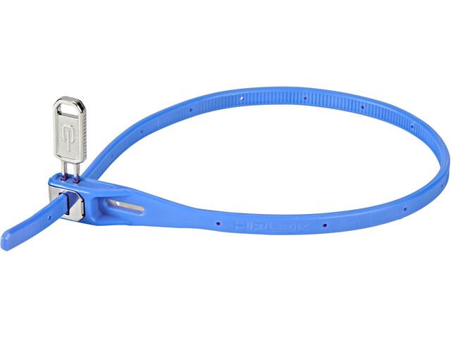 Hiplok Z-Lok Cable Tie Lock 40cm, cyan